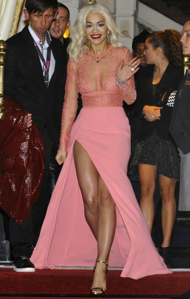 Rita ora Style me pink fashion show